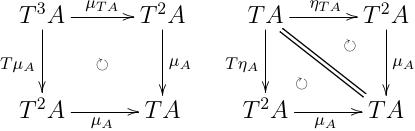 \eta_{T A}; \eta_A = T \eta_A; \eta_A